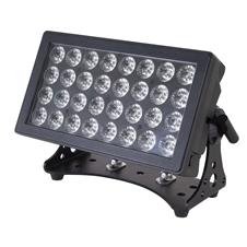 Sagitter SG IPLED32CDL - Всепогодный заливающий прожектор 32 x 12 Вт RGBWA-UV LED с ультрафиолетом, IP65