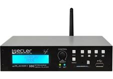 Ecler ePLAYER1 - Аудиоплеер со стереовыходом (2хRCA), Wi-Fi, Ethernet, USB, SD-карта, интернет-радио, DLNA и AirPlay