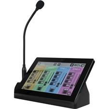 Ecler PAGENETDN - Программируемый пейджинговый микрофон с сенсорным дисплеем для EclerNet