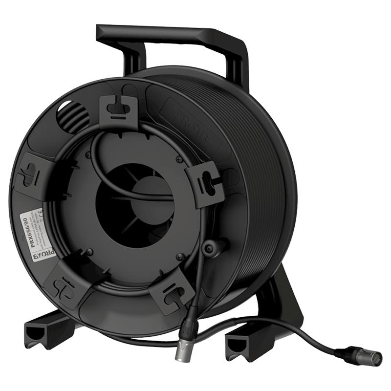 Procab PRX656/90 - Кабельная катушка c кабелем витая пара BCT65S (CAT6A S/FTP)