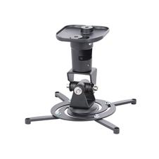 ErgoFount BPM-1 - Универсальное настенное или потолочное крепление для проектора до 15 кг, черное