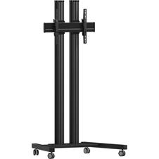 Vogels TD1864 Black - Напольный мобильный стенд для дисплея диагональю более 55'', VESA до 600x400 мм, макс. нагрузка 80 кг