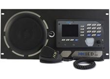 Atlas IED IEDA528SRME-H - Программируемая 20-кнопочная станция с микрофоном, громкоговорителем и 3-канальным блоком расширения