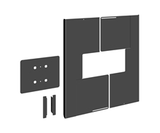 Vogels PFA 9121 - Кожух для задней стенки дисплея 50–55'', портретная ориентация