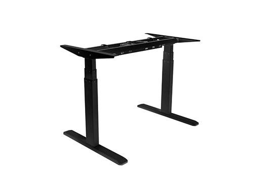 ErgoFount BSSD-10-17/F23S - Основание стола для работы стоя и сидя c электроприводом на телескопических опорах 620–1280 мм, макс. нагрузка 100 кг