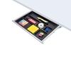 ErgoFount PTS4324 - Выдвижной ящик-органайзер для канцелярских принадлежностей под стол, средний
