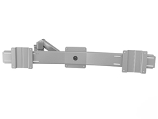 Kondator 438-LC59 - Шарнирный кронштейн серии Conceptum для 2 мониторов (1x2) с газопружинным амортизатором, макс. нагрузка 12 кг