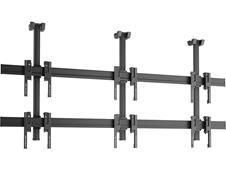 Vogels C2315 Black - Потолочное крепление для видеостены 2х3 из дисплеев 49–55'', макс. нагрузка 240 кг