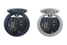 Kramer RTBUS-25XL - Модуль для подключения с разъемами VGA, HDMI, USB, RJ45, miniJack 3,5 мм