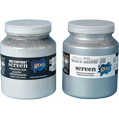 Screen Goo HE Ultra Silver 3D Pair - Комплект красок серии HE Ultra Silver 3D, базовое и финишное покрытие
