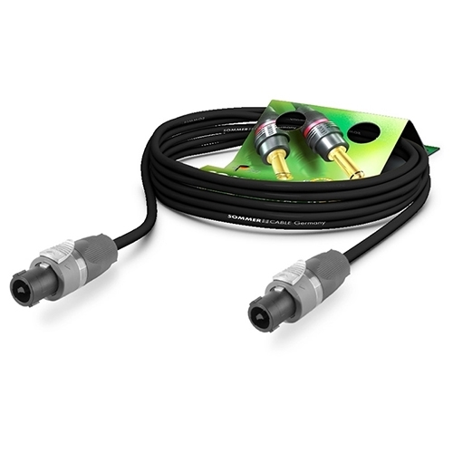 Sommer Cable ME25-225 - Акустический кабель SC-MERIDIAN 2х2,5 кв.мм, Speakon NEUTRIK (розетка-розетка)