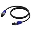 Procab PRA502 - Акустический кабель 2х2,5 кв.мм Speakon Neutrik (розетка-розетка)