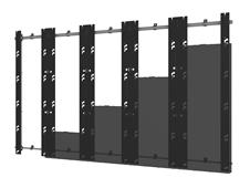 Peerless-AV DS-LEDBXT-5X5 - Монтажный комплект для установки видеостены из панелей серии Barco XT в конфигурации 5x5