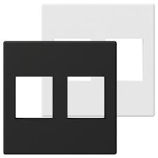 Procab CP45KS2 - Модуль настенной панели для двух вставок Keystone
