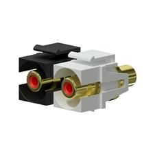 Procab VCK107P - Вставка-переходник Keystone RCA – RCA