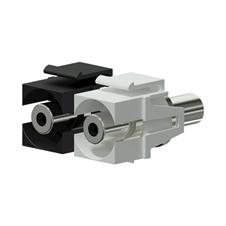 Procab VCK310 - Вставка-переходник Keystone miniJack 3,5 мм – miniJack 3,5 мм