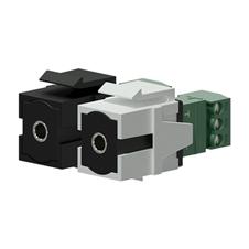 Procab VCK315 - Вставка-переходник Keystone miniJack 3,5 мм – клеммный блок