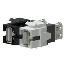 Procab VCK622 - Вставка-переходник Keystone USB 2.0 тип A – USB 2.0 тип A