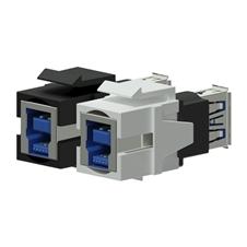 Procab VCK630 - Вставка-переходник Keystone USB 3.0 тип A – USB 3.0 тип B