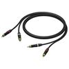 Procab PRA800 - Аудиокабель 2хRCA (вилка-вилка), гибкий, UltraFlex™