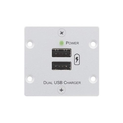 Kramer W-2UC - Блок питания для двух мобильных устройств с разъемом USB с общей нагрузкой до 4 А