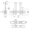 Vogels CD1584 Dual Black - Потолочное крепление для 2 дисплеев диагональю более 65'' («спина-к-спине»), длина штанги 1500 мм, макс. нагрузка 160 кг