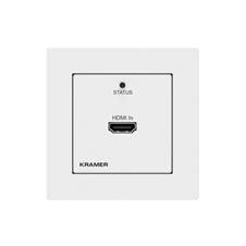 Kramer WP-789T - Настенная панель-передатчик HDMI 2.0 4K/60 (4:2:0) с HDCP 1.4/2.2 и EDID, двунаправленных RS-232, ИК по витой паре HDBaseT