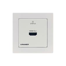 Kramer WP-872XR - Настенная панель-приемник HDMI с HDCP 2.2 и HDR по витой паре DGKat 2.0; поддержка 4K60 (4:4:4) на 60 м