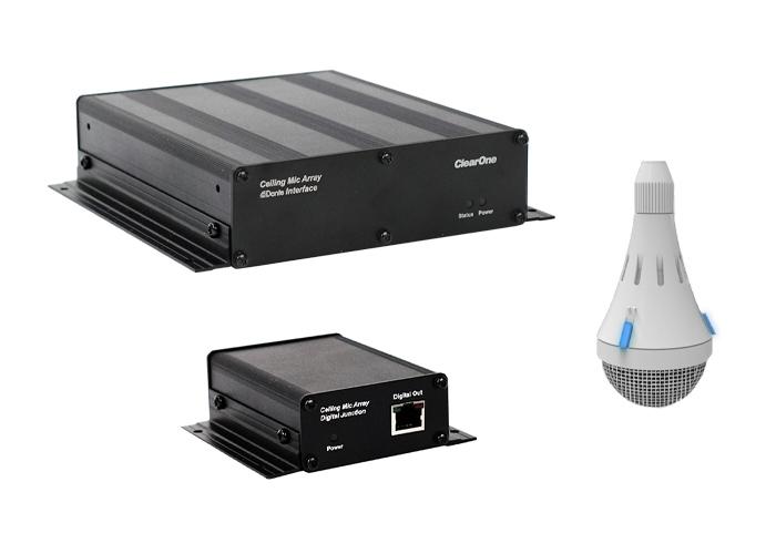 ClearOne CM Array2/W Bundle A - Комплект из белого потолочного микрофонного массива с выходом Dante, передатчика и приемника
