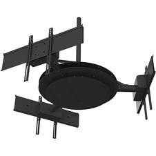 Peerless-AV DST980-3 - Потолочное крепление для трех ЖК-дисплеев диагональю 37-80'', макс. нагрузка 225 кг