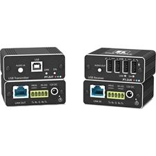 Kramer PT-2UT/R - Комплект из передатчика и приемника аудио, USB 2.0 и RS-232 по витой паре HDBaseT