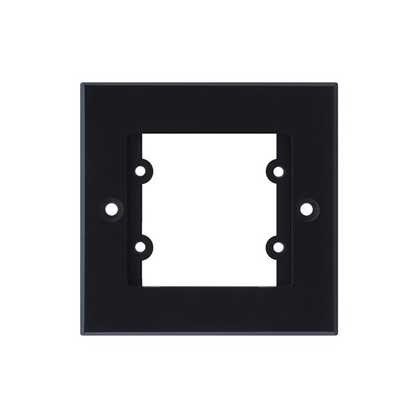 Kramer FRAME-1G/EUK(B) - Рамка для монтажа модулей-переходников