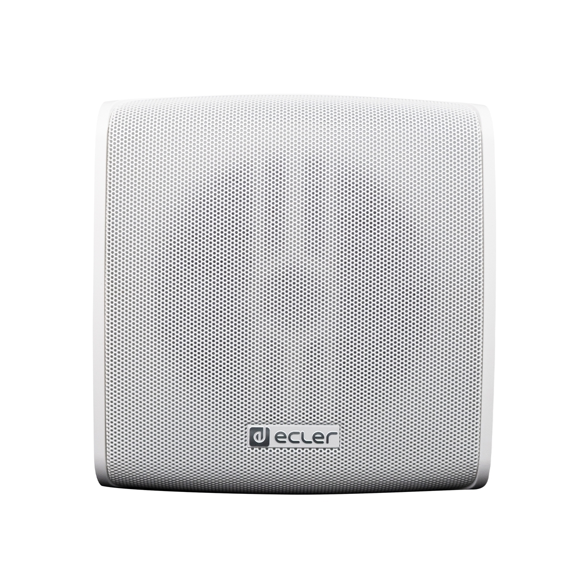 Ecler CUBE (white) - Приемник системы Ecler WiSpeak, беспроводная подвесная АС 5'' белого цвета