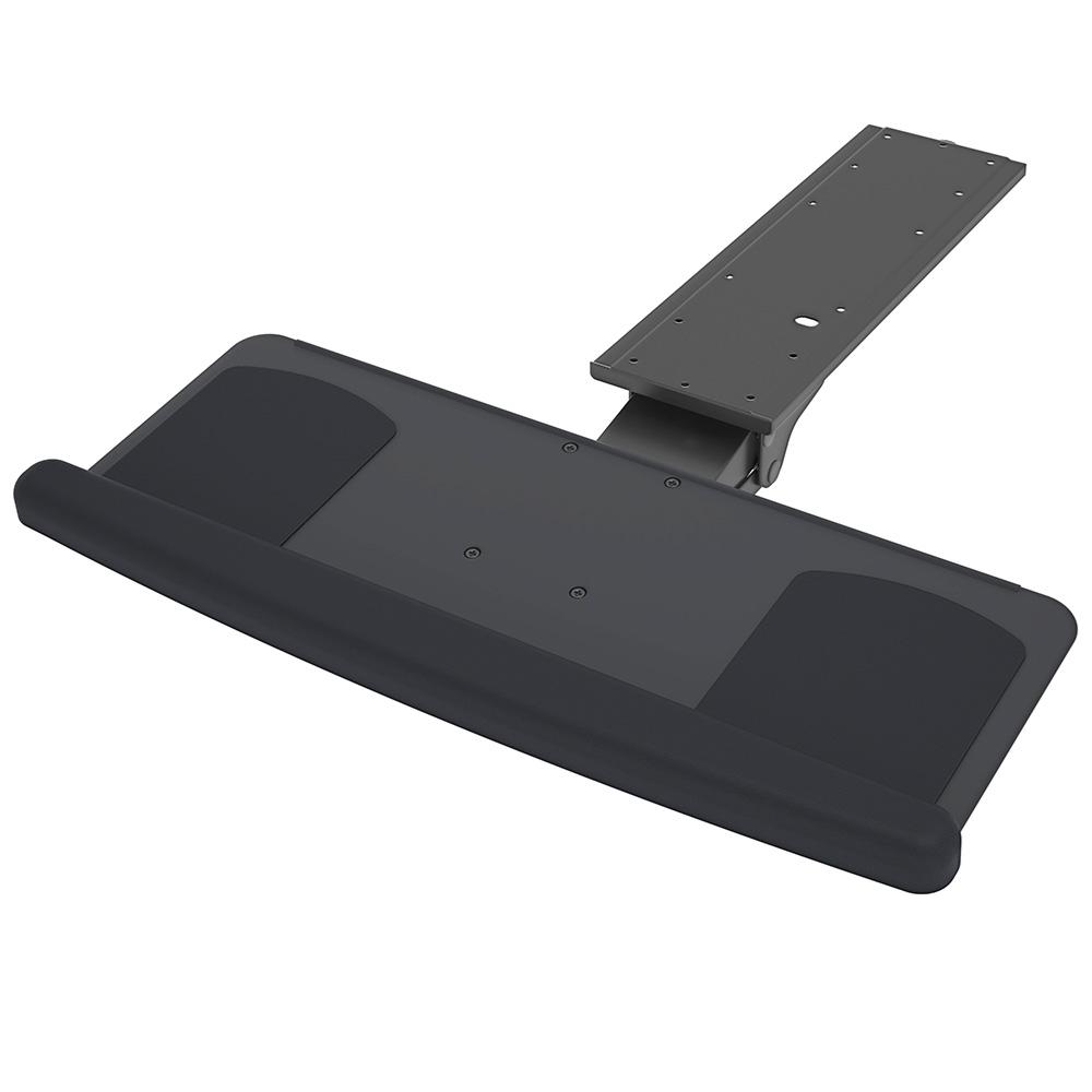 Kondator 450-KA20 - Выдвижная полка для клавиатуры и мыши с подставкой под запястья, черная