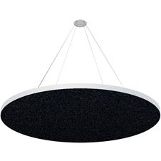 Ecler Noise2-1004A - Акустическая панель диаметром 1000 мм, толщина 40 мм, черная