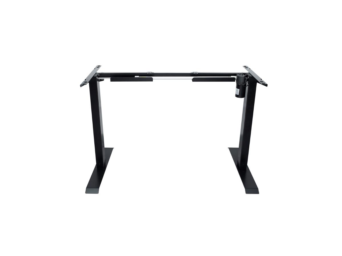 ErgoFount BSSD-L10-18/14 B - Основание стола для работы стоя и сидя с электроприводом на телескопических опорах 710–1210 мм, макс. нагрузка 70 кг, черное