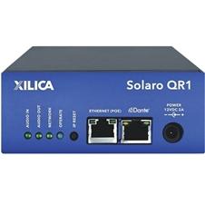 Xilica SOLARO QR1 - Шасси модульного DSP-аудиопроцессора, 8 слотов расширения, 4х4 Dante