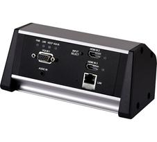 Cypress CH-2537TXM-TB - Настольный коммутатор с автопереключением 2хHDMI, 1хVGA с аудио и передатчик HDBaseT
