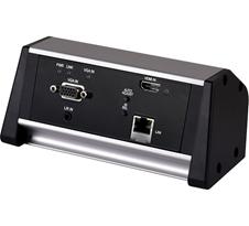 Cypress CH-2538TXM-TB - Настольный коммутатор с автопереключением HDMI и VGA с аудио и передатчик HDBaseT