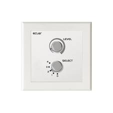 Ecler WPaVOL-SRUS - Настенная панель управления громкостью и выбором источника