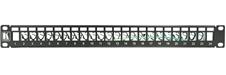 Kramer PATCH-PANEL-24 - Патч-панель 1U для 19'' стойки на 24 разъема экранированной витой пары