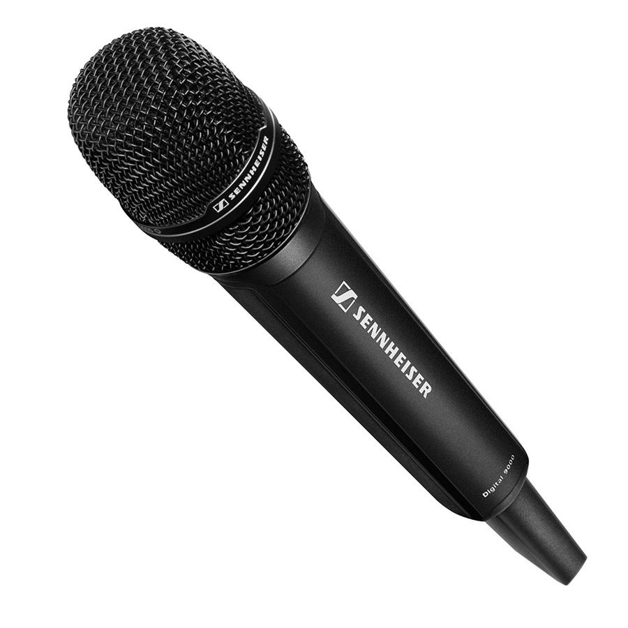 Sennheiser SKM 9000 BK COM B1-B4 - Ручной цифровой передатчик с кнопкой «COMMAND»