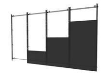 Peerless-AV DS-LEDIER-4X4 - Монтажный комплект системы dvLED для создания видеостены в конфигурации 4х4 из панелей Samsung IER или IFR