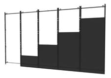 Peerless-AV DS-LEDIER-5X5 - Монтажный комплект системы dvLED для создания видеостены в конфигурации 5х5 из панелей Samsung IER или IFR
