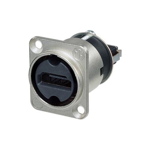 Neutrik NAHDMI-W - Переходник HDMI типа A, 19-pin (розетка-розетка), цвет никель