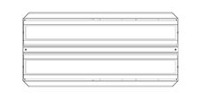 Brightline FLXT2-X35-SS-MMM - Потолочный двухмодульный светодиодный светильник с регулировкой яркости по интерфейсу DALI