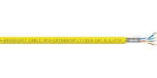 Percon NEO-CAT6007HF/Y/ECA - Витая пара CAT6, U/FTP, 4х2х0,11 кв.мм (AWG 27)