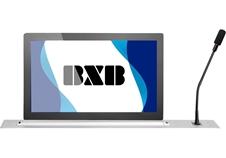 BXB FCS-6365-43 - Лифт председателя с интерактивным экраном 17,3'' и микрофоном