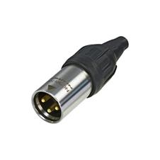 Neutrik NC3MX-TOP - Кабельный разъем XLR 3-pin (вилка) для наружного применения, на кабель диаметром 5–8 мм, под пайку
