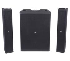 Proel SESSION6 - Активная трехканальная система звукоусиления с 10'' сабвуфером и двумя сателлитами 6х3,5''